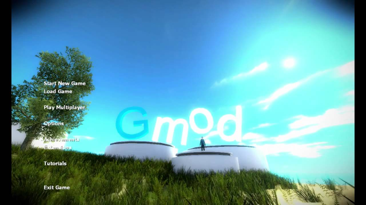 how to change gmod menu background