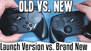 Steam Controller  - Build Quality Comparison Review [NOT A NEW VERSION, JUST A NEW ONE]