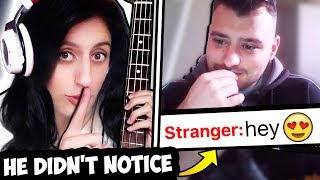 I Pretended to be a GIRL BASSIST on the internet (GONE WRONG)