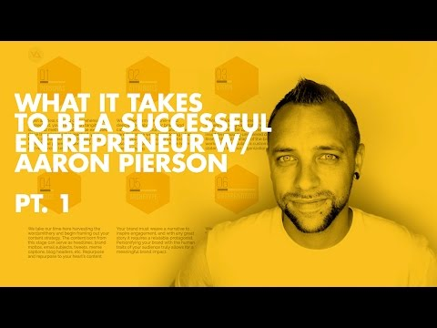 Learning From Failure pt. 1 w/ Aaron Pierson