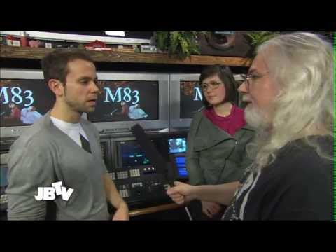 M83 - Making Music With Computers Interview | Live @ JBTV