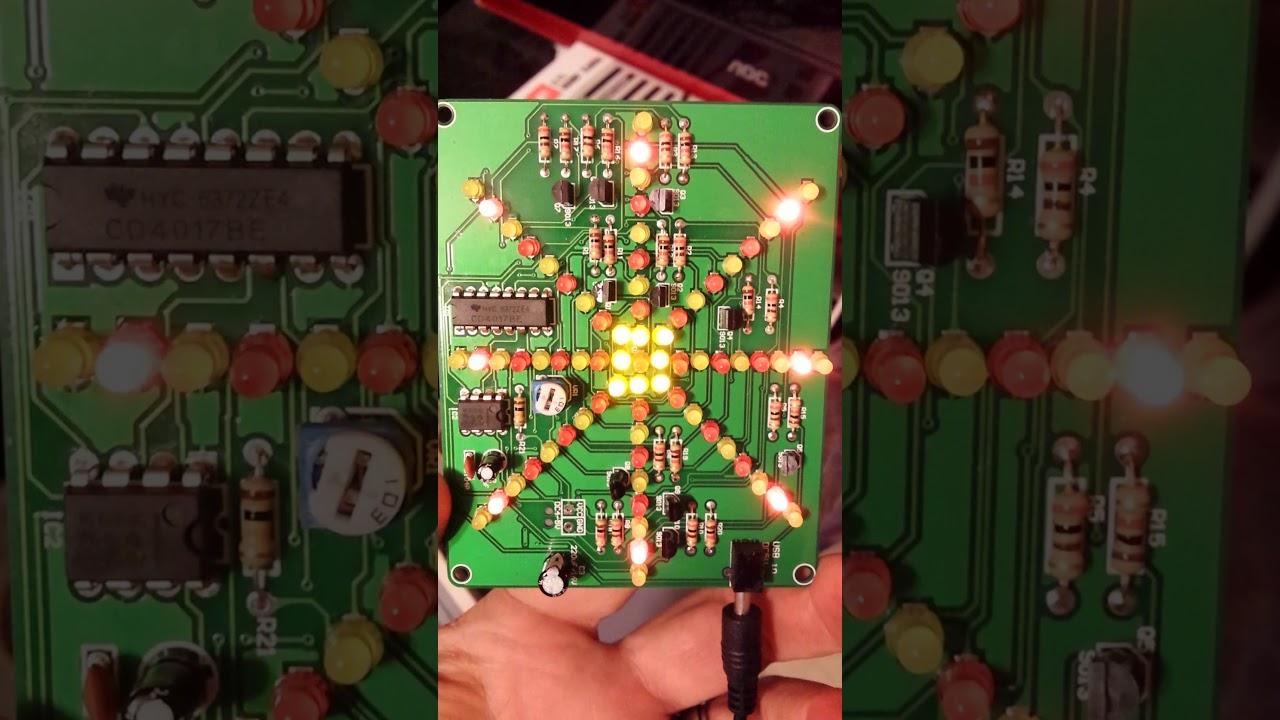 Lsd 73 Diy Led Kit Youtube How To Make Mp3 Player At Home Chaser Using 555 Timer Cd4017