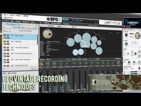 BFD VINTAGE RECORDING TECHNIQUES | IN DEPTH