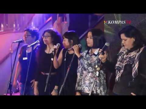 Payung Teduh – Angin Pujaan Hujan Jazzy Nite KOMPAS TV