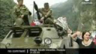 Russian troops arrive to North Ossetia