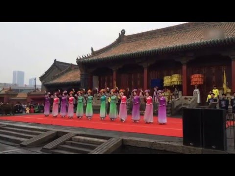 Palace festival of Qing dynasty,  Shenyang China.