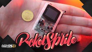 PocketSprite - najmniejszy handheld na świecie!