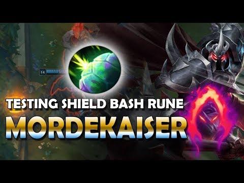 Sheild Bash Mordekaiser Is AMAZING   Mordekaiser Dark Harvest - League Of Legends