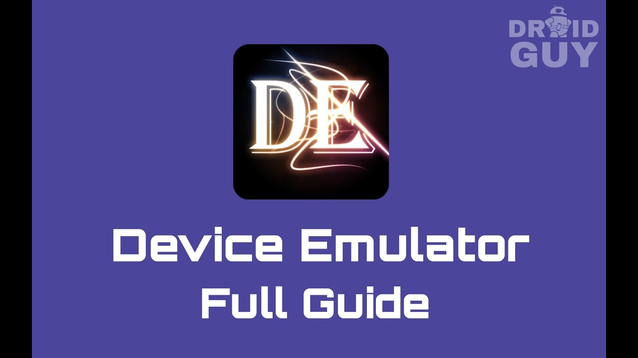 How to use Device Emulator android app (full guide)