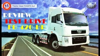 Truck FAW FD 420 TH || Review and Test Drive