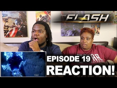 The Flash Season 3 Episode 19 : REACTION WITH MOM!