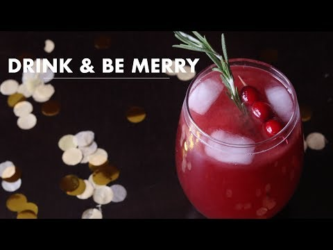 NON ALCOHOLIC HOLIDAY DRINKS | DIY | DANIE O