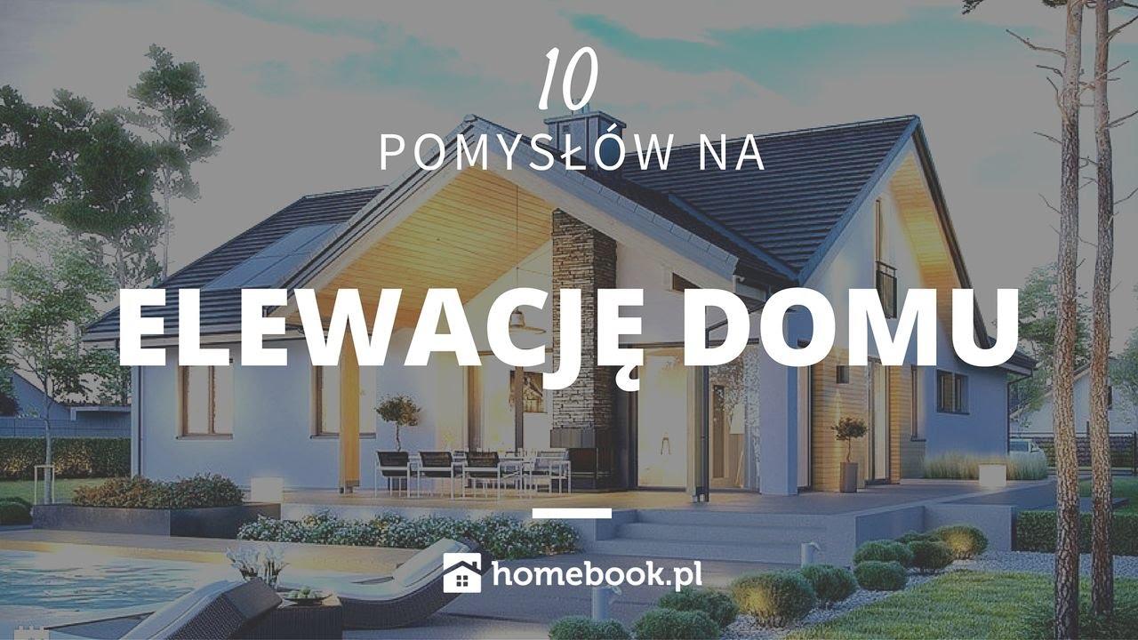Jaką elewację domu wybrać - 10 pomysłów na elewacje domu #projekty domów #inspiracje