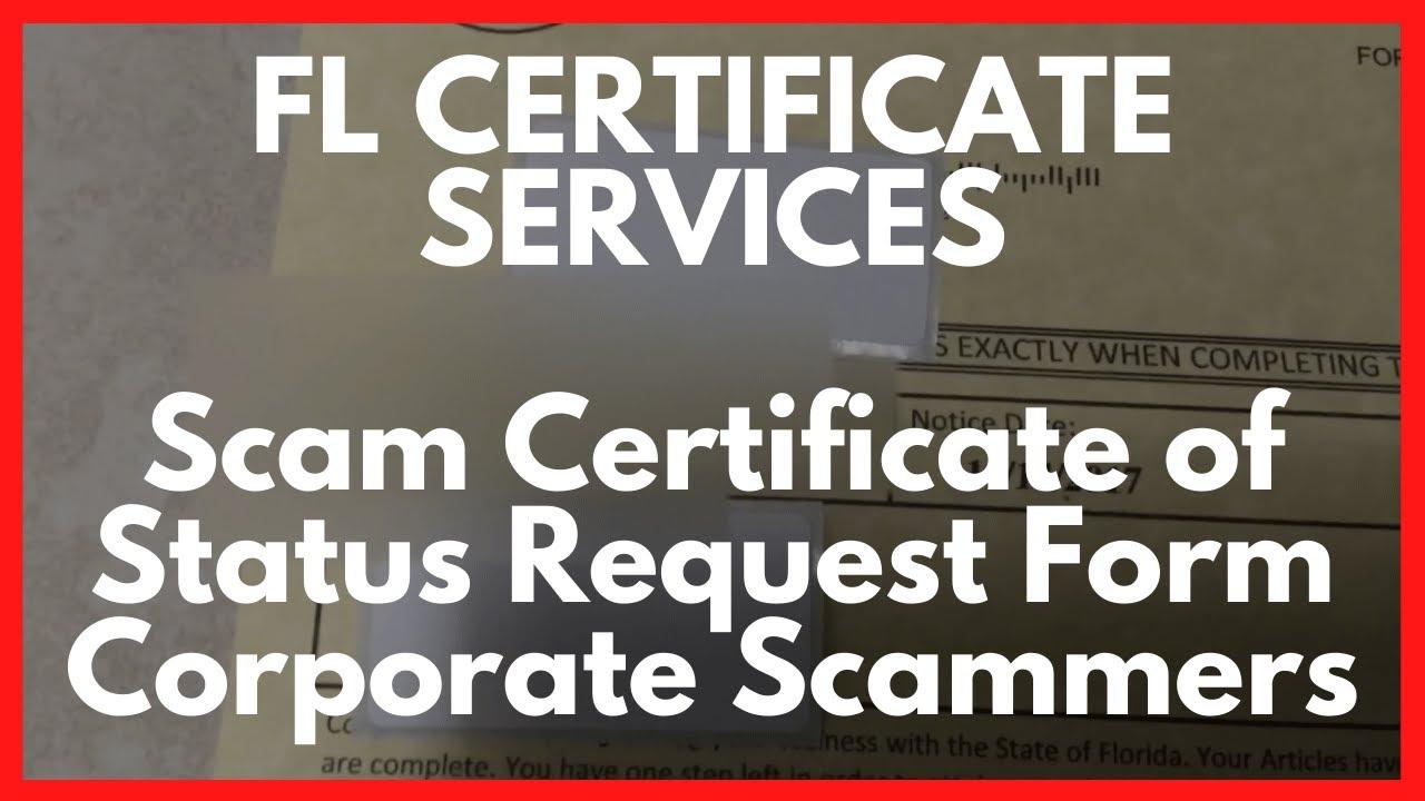 Certificate Of Good Standing Florida Free Resume 2018 Free Resume