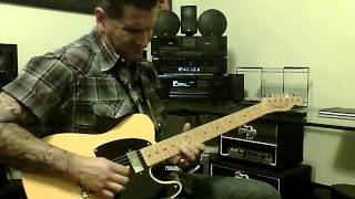 Rockabilly guitar playing II