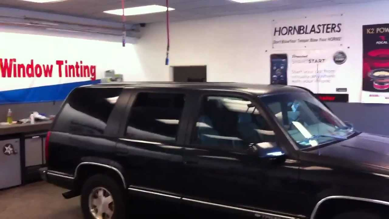 medium resolution of 1999 chevrolet tahoe matte wrap part 2 after oracal al ed s south bay