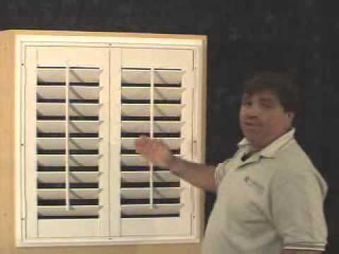 Woodlore Shutters L Frame Installation YouTube