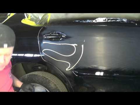Полировка чёрного авто