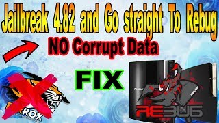 How To Jailbreak Your PS3 and Go straight To Rebug No Ferrox No corrupt data ( FIX 2018 Easy Easy )