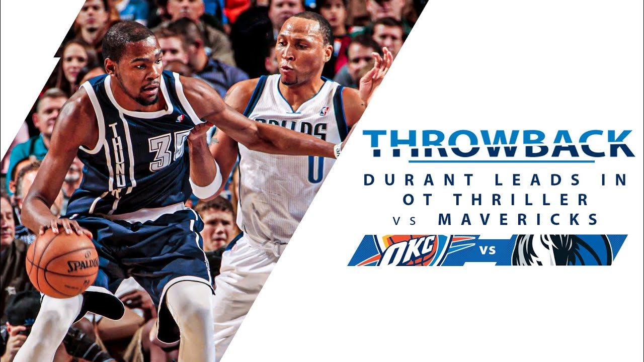 Download Kevin Durant Drops 52 Points And A Game Winner In OT vs Mavericks | Full Classic Game - 1.18.13