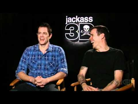 Jackass 3D Interview - Johnny Knoxville & Steve-O