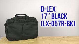 Розпакування D-Lex 17'' Black LX-057R-BK