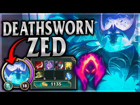 CAN'T TOUCH THIS! FLAWLESS DARK HARVEST ZED! Death Sworn Zed Mid - League of Legends Commentary