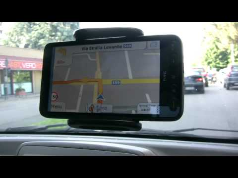 IGO PRIMO - htc HD2 test - Full HD