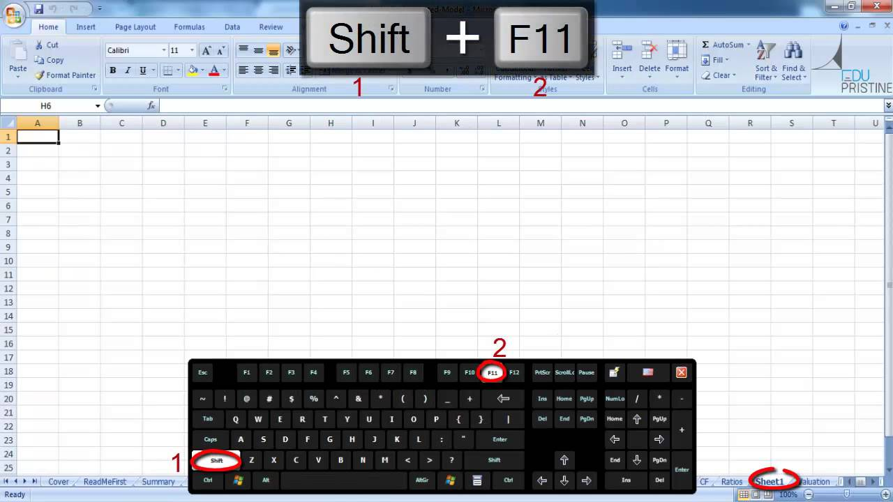 How To Sert New Sheet Excel B Sics Nd Sh Tcuts Excel
