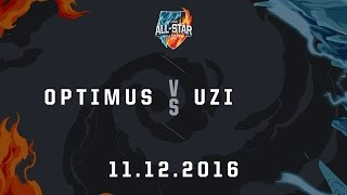 11122016 optimus vs uzi solo 1v1allstar 2016