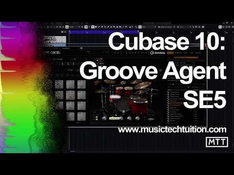 Cubase 10: Groove Agent SE5