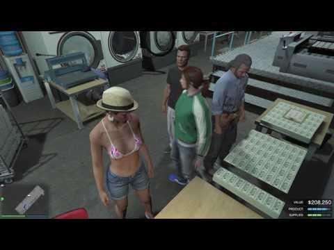 Money laundry glitching - GTA Online