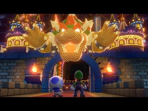Super Mario 3D World - All Final Castles (2 Player)