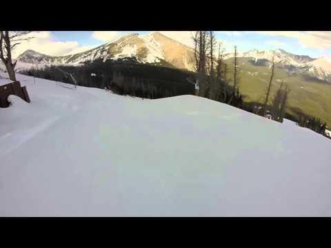 First Time Ski On Black Diamond In Nakiska