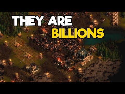 They Are Billions Gameplay #26 - Later Waves Defense Strateg