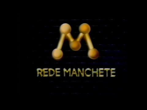 REDE MANCHETE Chamada Programacao Vespertina 1993