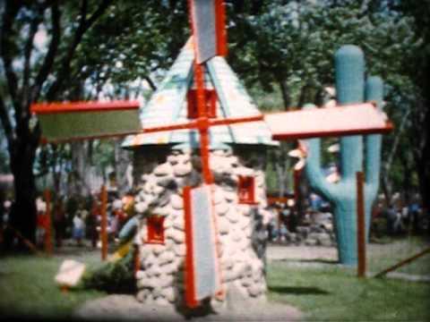8mm 1961 06 Jardin des Merveilles, Parc Lafontaine, Montréal, PQ