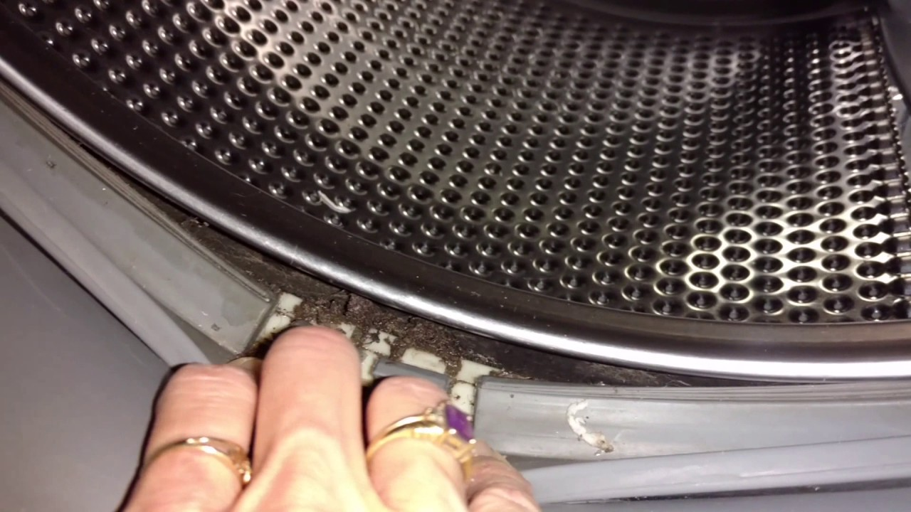 How To Clean The Door Gasket (Diaphragm) On A Front Load Washer