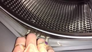 Hidden GUNK in  Front Load Washers, how to clean & remove