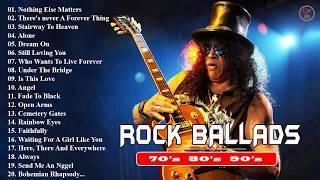 Scorpions, Metallica, Bon Jovi, Foreigner, Aerosmith Best Songs - Greatest Slow Rock Ballads