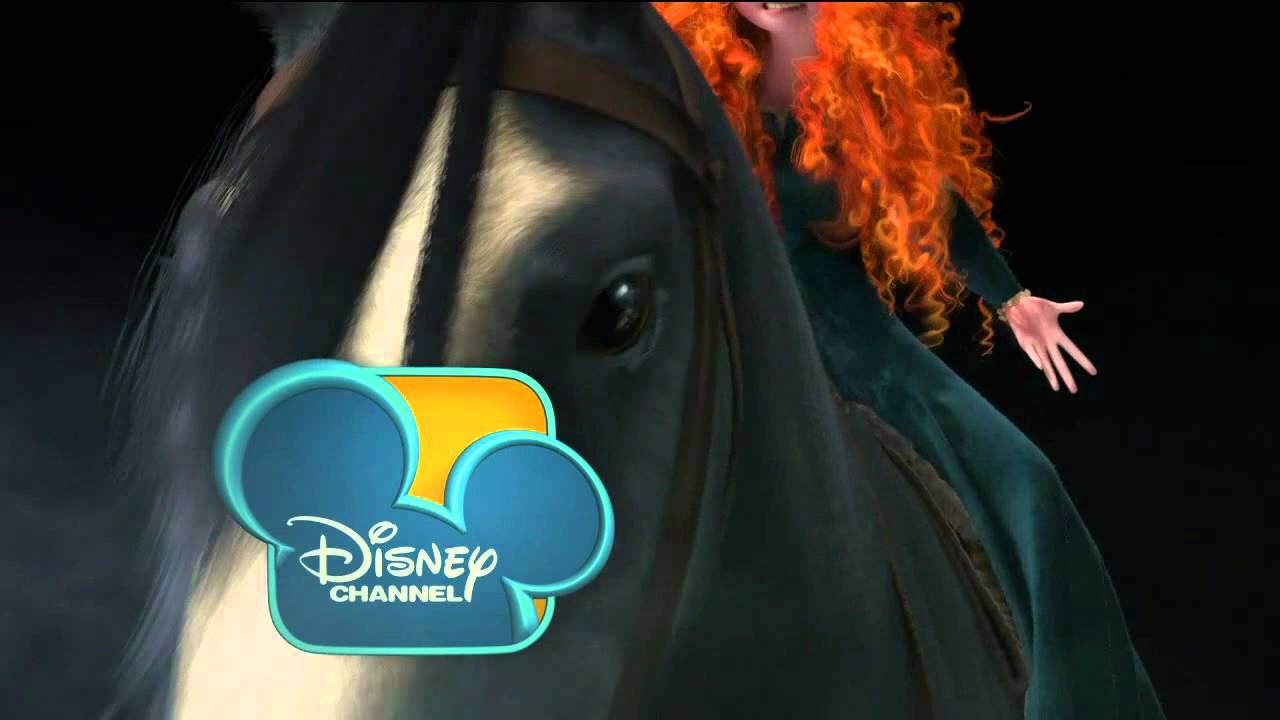 """disney channel bumper """"brave"""" merida and angus - youtube"""