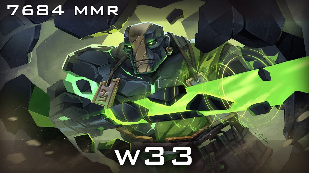 W33 Earth Spirit 7684 MMR Ranked Gameplay Dota 2 ViYoutube