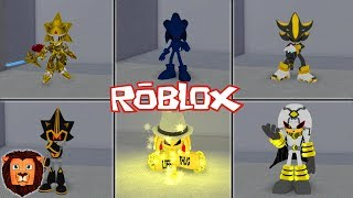 ALL SONIC HIDDEN CHARACTERS IN ROBLOX SONIC IN ROBLOX LEON PICARON