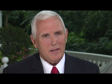 full interview vice president mike pence on face the nation youtube
