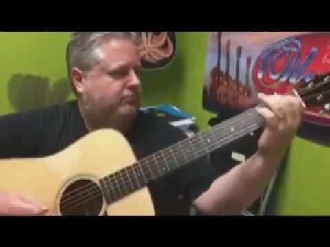 Musician John Schreiber Plays A Collings D1 Guitar