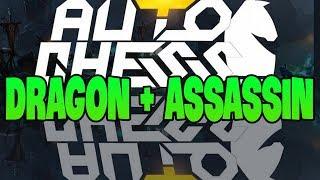Gà thử đội hình Dragon + Assassin | Gasenpai | auto chess vn | gameplay