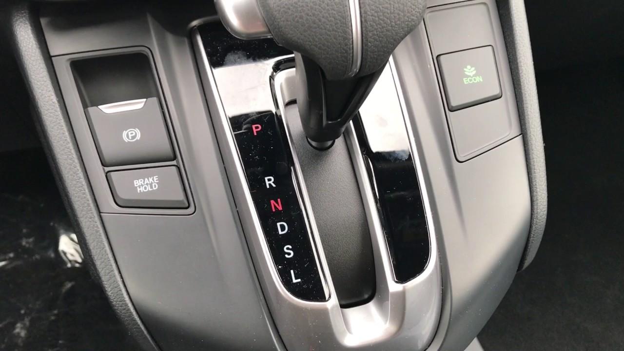 2017 Honda CR-V eco on, adjustable center tray, and emergency ...