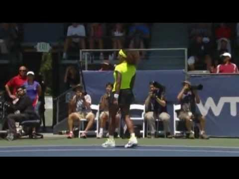 Serena Williams Bank of the West Classic Final Hot Shot