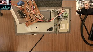 Yamaha SW-P201 subwoofer repair - STK audio amplifier replacement