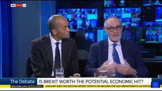 Is Brexit worth risking economic disaster? Chuka Umunna vs Crispin Blunt